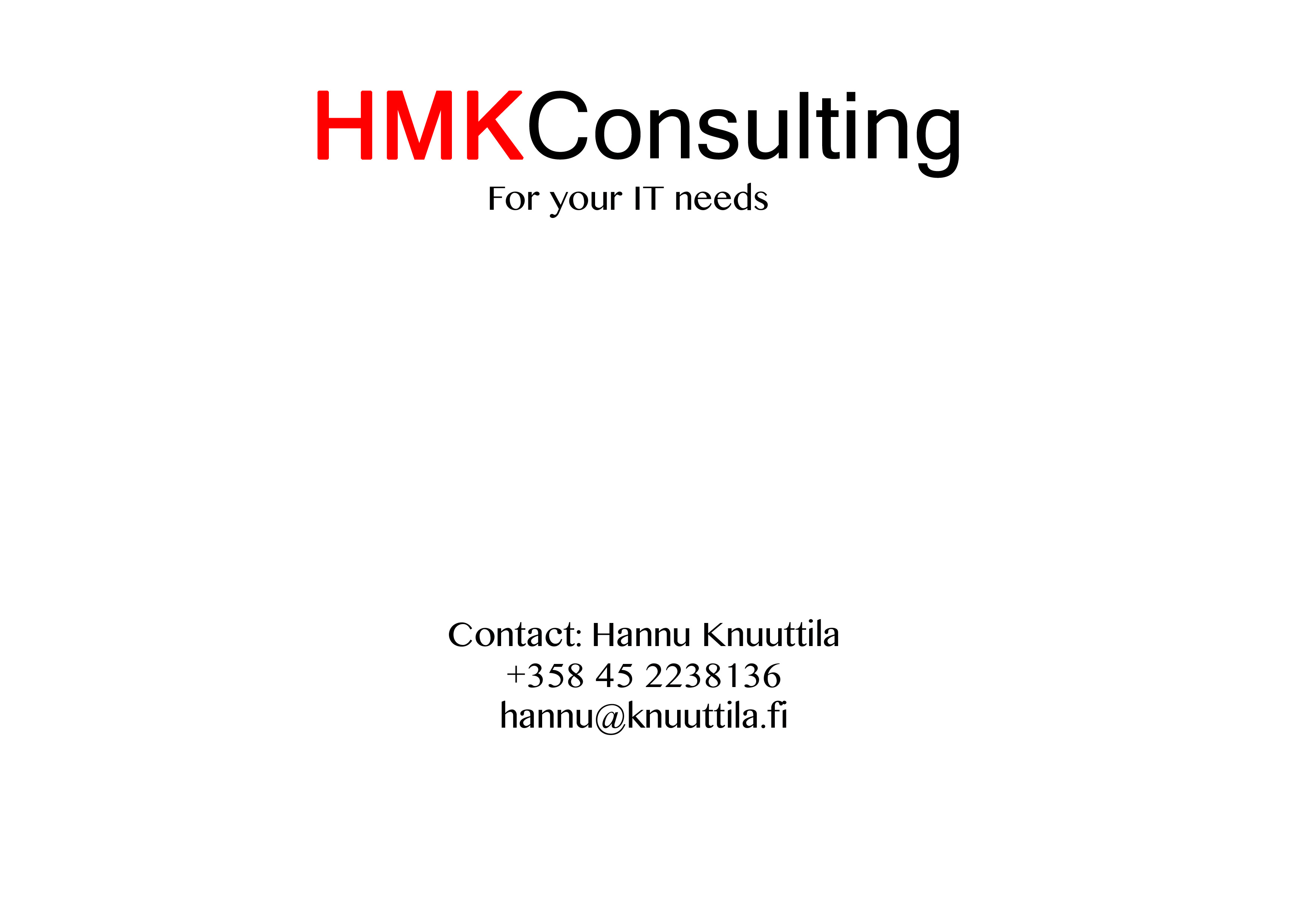 HMK Consulting